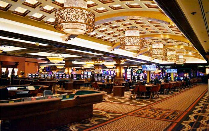 Hoefijzer Casino interieur
